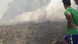 اثارانفجار مخزن للعتاد تابع للمليشيات شرق بغداد
