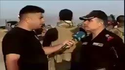 قوات حكومة العبادي و تعرضهم لقناصة تنظيم الدولة في احدى محاور معركة الموصل!!