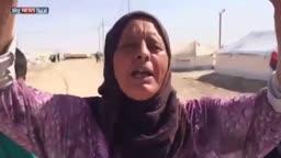 خطف واعتقال اثناءالنزوح لأبناء الفلوجة_الانبار