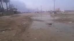 لقطات من القصف على مناطق غرب العراق