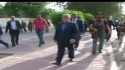 جولة العبادي بعد المظاهرات واقتحام مبنى البرلمان