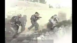 احدى اقتحامات وتكتيكات القوات الحكومية