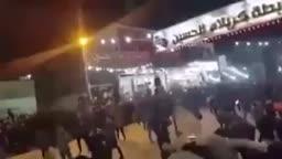 مواكب الحسينيات في العراق وهي تلعن صحابة رسول الله