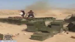قصف المدفعية غرب العراق