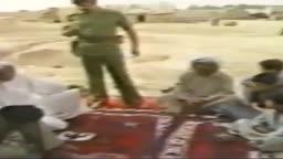 من زيارات صدام حسين للعوائل العراقية