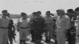 زيارة صدام حسين للفرقة السادسة ١٩٨٠