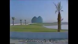 زيارة الرئيس الراحل صدام حسين الى نصب الشهيد في ذكرى يوم الشهيد
